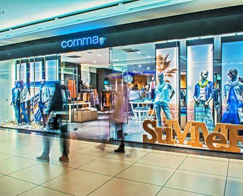 Comma Store Westpark außen